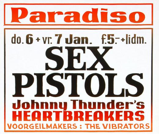 The Sex Pistols in Paradiso