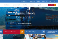 Website Transport en Logistiek Nederland
