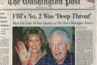 The Washington Post over Watergate en 'Deep Throat'