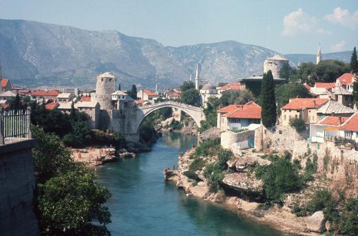 Mostar in 1974 © Creative Commons
