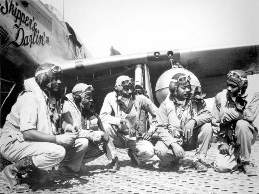 Pilots-of-the-332nd-Fighter-Group