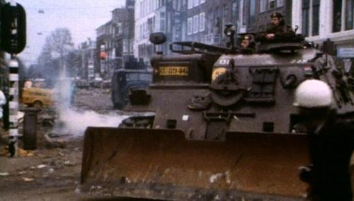 Tanks in de Vondelstraat